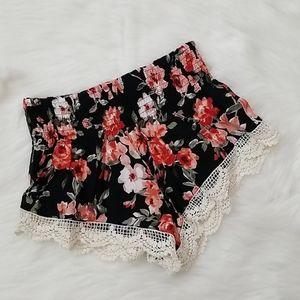 Forever21 Floral Shorts!